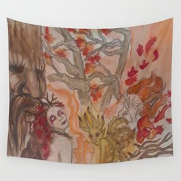 Autumn Unseelie Wall Tapestry