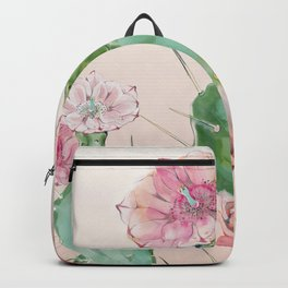 spring cacti flowers Backpack
