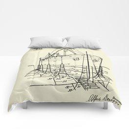 Ship Scaffold-1924 Comforters
