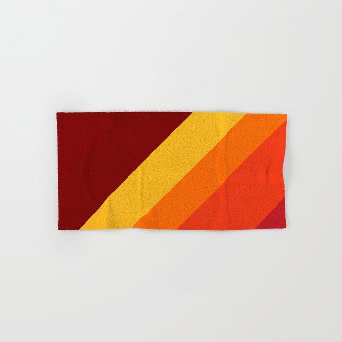 Retro 70s Color Palette II Hand & Bath Towel