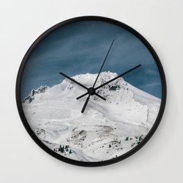 Mount Hood XIII Wall Clock
