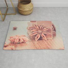 Anise, milk chocolate and coffee beans Rug