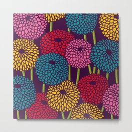 Full of Chrysanth Metal Print