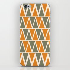 Green And Orange Triangles  iPhone & iPod Skin