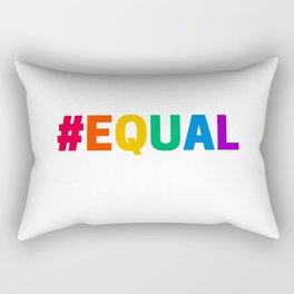 RAINBOW HASHTAG EQUAL Rectangular Pillow