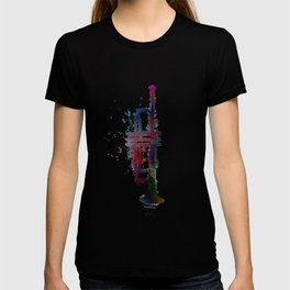 trumpet art #trumpet #music T-shirt