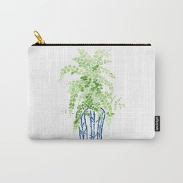 Ginger Jar + Maidenhair Fern Carry-All Pouch
