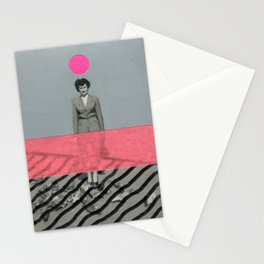 Neon Concrete Stationery Cards