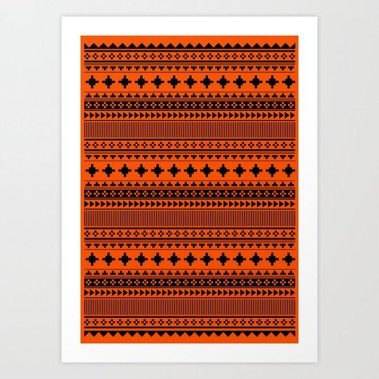 Navajo Nine Art Print