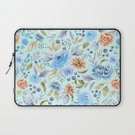 Watercolor Floral Garden Laptop Sleeve