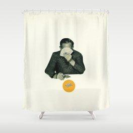 Poker Face Shower Curtain