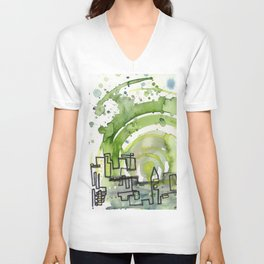 City of Tomorrow Unisex V-Neck