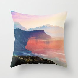 Sunrise Grandeur #society6 #decor #buyart Throw Pillow