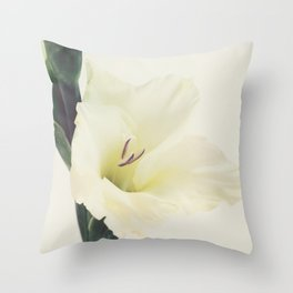 Sword Lilly - Gladiolus - JUSTART © Throw Pillow