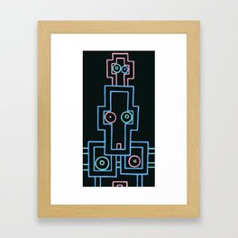 self.a.where. Framed Art Print