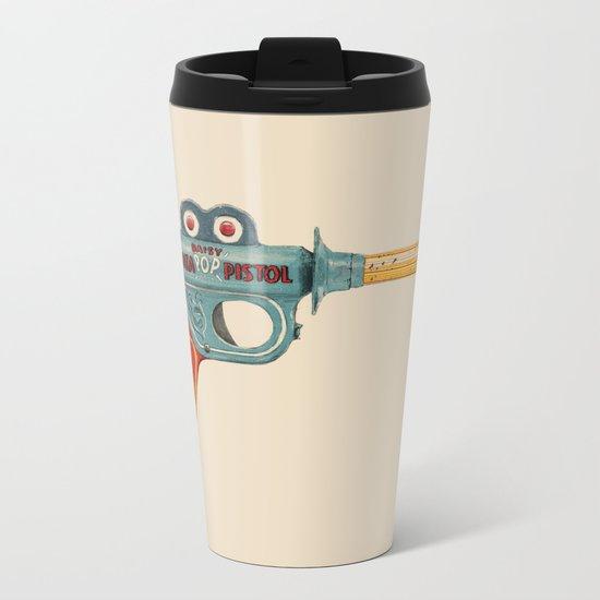 Gun Toy Metal Travel Mug