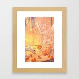 Glass Dragons Framed Art Print