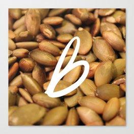 Recettes du Bonheur - foodies Canvas Print