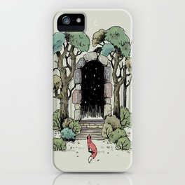 Forest Gate iPhone Case