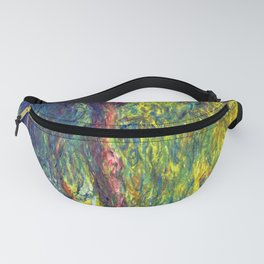 Claude Monet Weeping Willow Fanny Pack