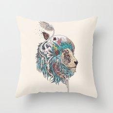 Unbound Autonomy (Blue) Throw Pillow