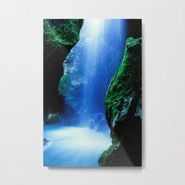 Waterfall-Orridi di Rio Basino Metal Print