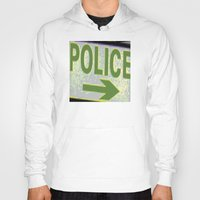 police Hoodies featuring police by XiXi