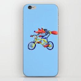 fox bike iPhone Skin