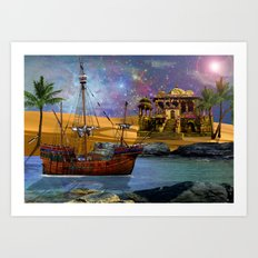 An Arabian Adventure Art Print