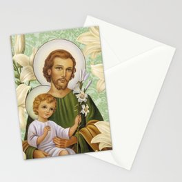 San José Verde Stationery Cards