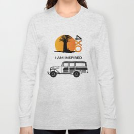 I AM INSPIRED LAND CRUISER 55 Long Sleeve T-shirt