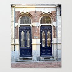 Two doors Canvas Print