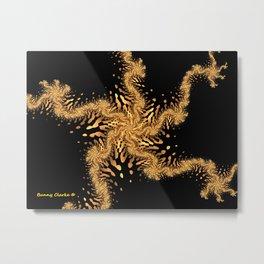 Dancing Sea Star Metal Print