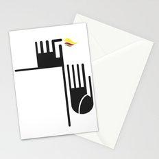 Feuer auf der Spitze Stationery Cards