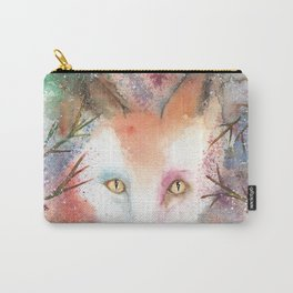 Loose Watercolor Red Fox Carry-All Pouch