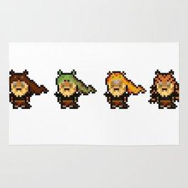Udyr, The Pixel Spirit Rug