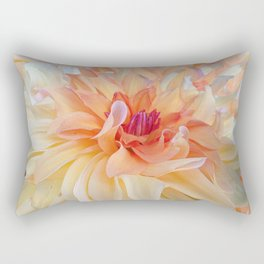 Dancing Dahlia Rectangular Pillow