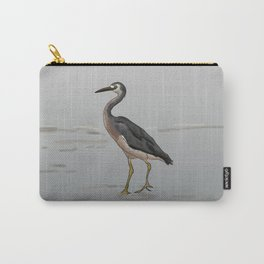 White-faced Heron Carry-All Pouch