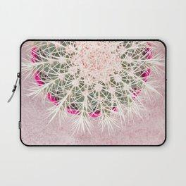 Cactus mandala - blush concrete Laptop Sleeve