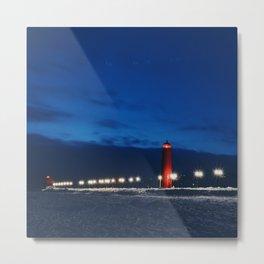 Grand Haven Light Metal Print