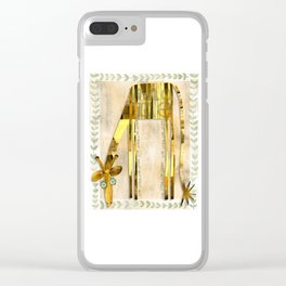 Who Me Clear iPhone Case