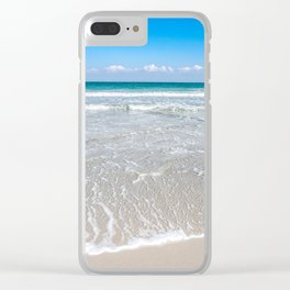 Paradise is the Beach Clear iPhone Case