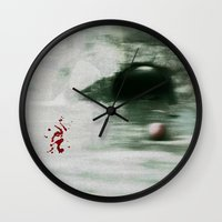 golf Wall Clocks featuring Golf by Mr and Mrs Quirynen