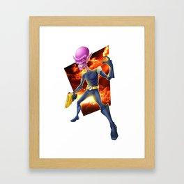 invader Framed Art Print