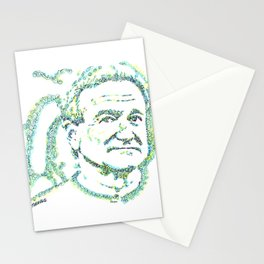 Likeness of Robin Williams Stationery Cards