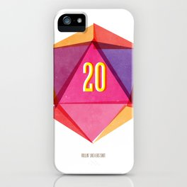 Rolling D20's Like A Big Shot  iPhone Case