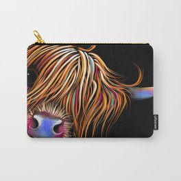 HiGHLaND CoW PRiNT SCoTTiSH ' SuGaR LuMP B ' BY SHiRLeY MacARTHuR Carry-All Pouch