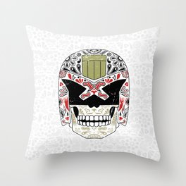 Day of the Dredd - Variant Throw Pillow