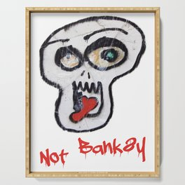 Not Banksy Serving Tray