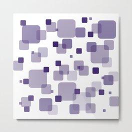 Purple Box Metal Print